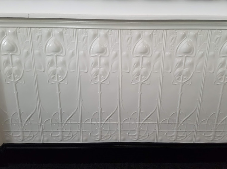 Art Nouveau Wall Panel