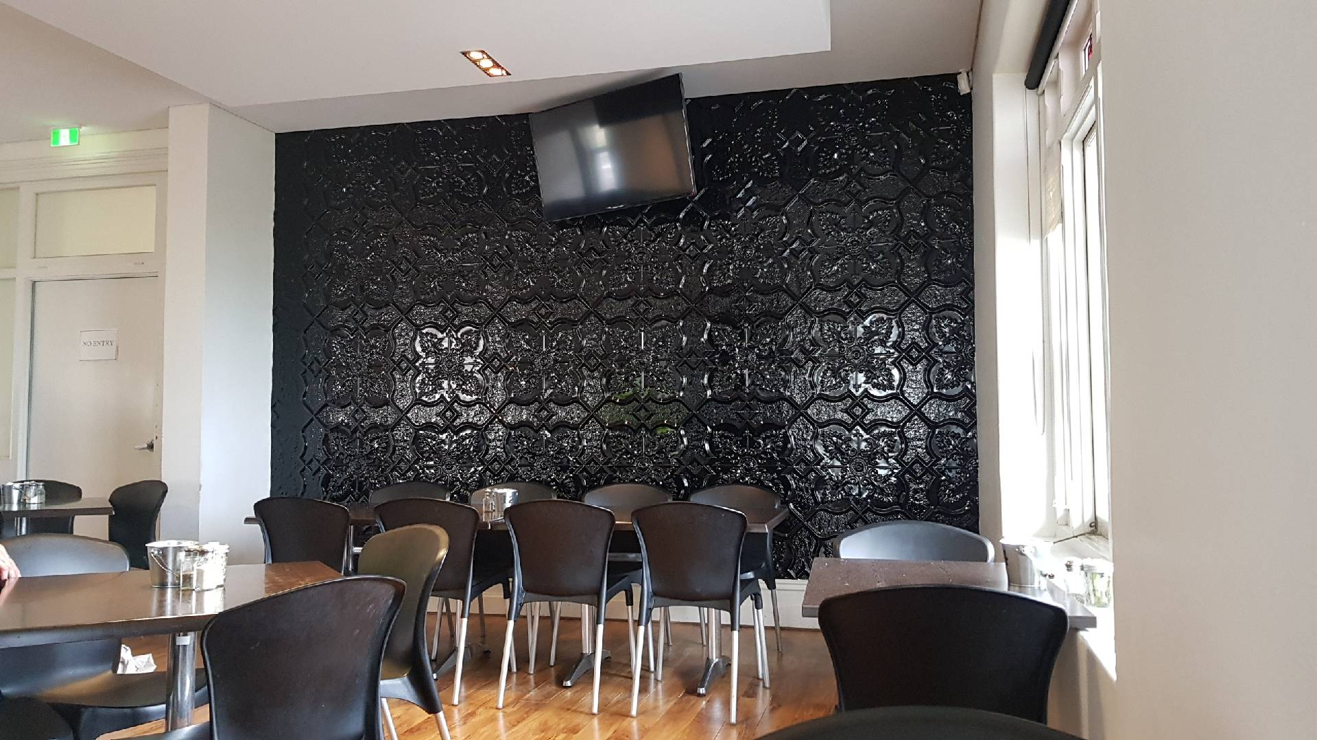 Newington Design Black Feature Wall