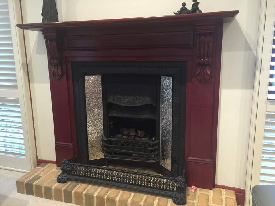Fine Roughcast Design Fireplace Inserts